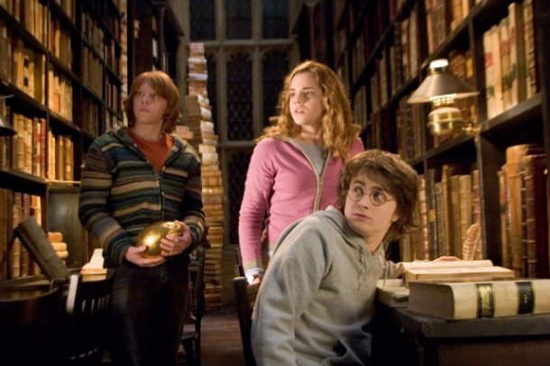 Harry Potter Hogwarts Library - Novel Conclusions - writing blog