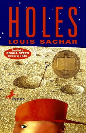 Holes - Louis Sachar - YA Books - theme - writing tips - Novel Conclusions - Christi Gerstle
