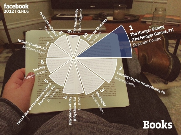 Most Read Books 2012 infographic - Novel Conclusions - literary blog - writing blog - Christi Gerstle