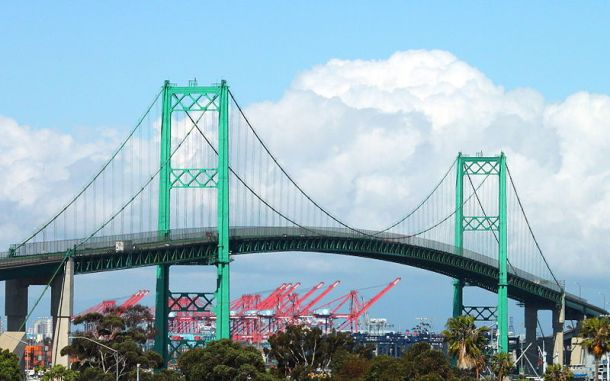 Vincent Thomas Bridge - San Pedro - fear - character motive - Novel Conclusions - writing blog