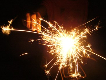Sparkler - Ignite - Inciting Incident - Novel Conclusions writing blog - writing tips