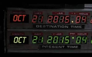 Back to the Future - Novel Conclusions Writing Blog - Literary Blog - Time Travel